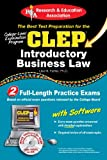 CLEP® Introductory Business Law with CD (CLEP Test Preparation)