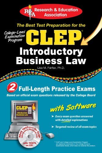 Rea Clep Test Preps Book Series