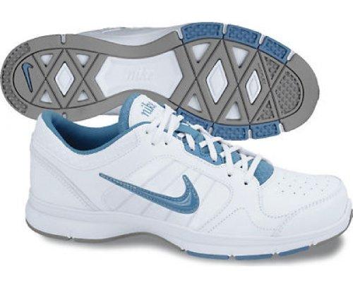 Nike 525739 102 zapatillas Fitness para Mujer color Blanco-Azul talla 38: Amazon.es: Zapatos y complementos