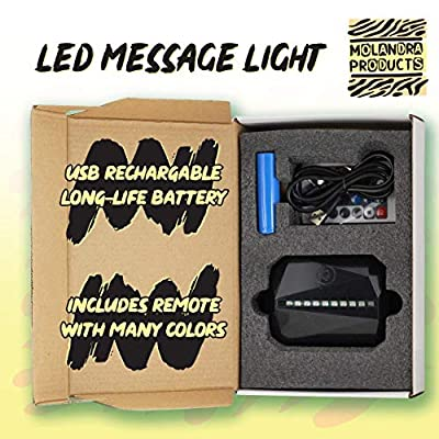 #Quan - Hashtag LED Rechargeable USB Edge Lit Sign