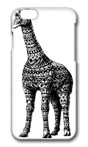 Apple Iphone 6 Case,WENJORS Adorable Ornate Giraffe Hard Case Protective Shell Cell Phone Cover For Apple Iphone 6 (4.7 Inch) - PC 3D