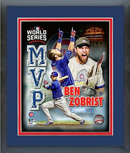 5b3094f00 Image Unavailable. Image not available for. Color  Ben Zobrist Chicago Cubs 2016  World Series MVP ...