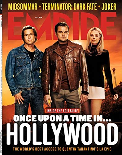 Empire Magazine (July, 2019) Once Upon A Time In Hollywood Cover