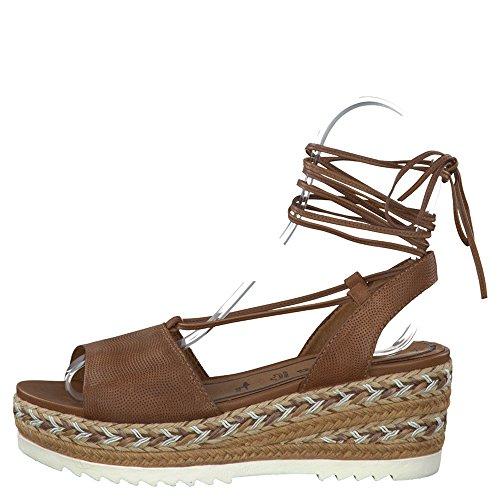 Tamaris 1-1-28330-28/305 305 - Sandalias de vestir para mujer marrón