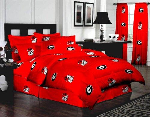 georgia bulldog sheets twin - 7