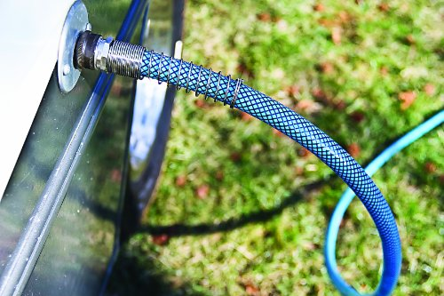 Camco 22813 4ft Premium Drinking Water Hose - Lead and BPA Free, Anti-Kink Design