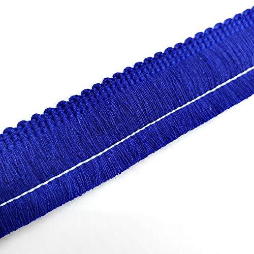 - Cotton Fringe Tassel Trim (Royal Blue)