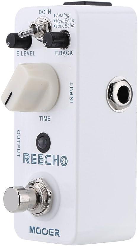Muslady Mooer Reecho Micro Mini Digital Delay Pedal de Efecto para ...