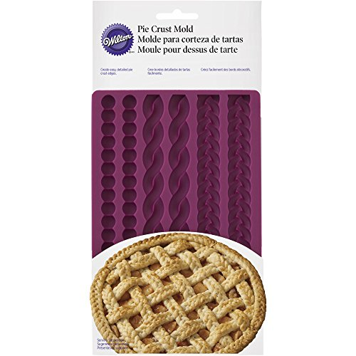 - Wilton Decorative Pie Crust Impression Mat