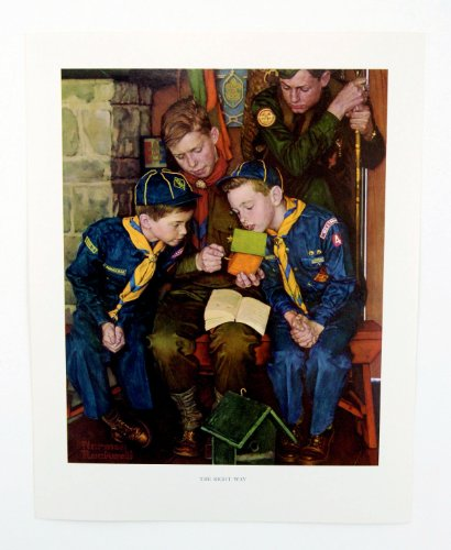 Top 10 norman rockwell boy scout