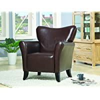 Coaster 900254 Accent Chair, Merlot
