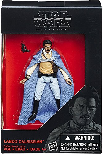 Star Wars  2016 The Black Series  Lando Calrissian Exclusive Action Figure  3 75 Inches