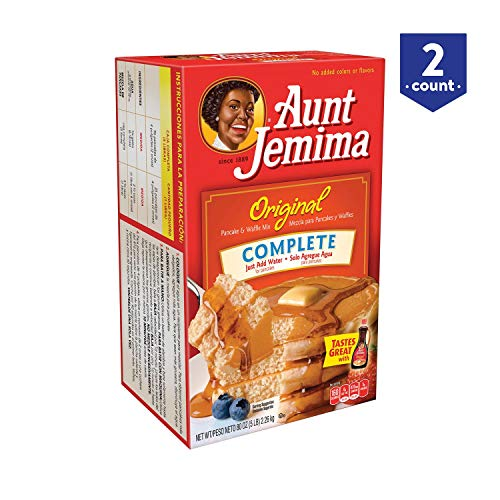 Aunt Jemima Original Pancake and Waffle Mix, 5 Pound Pack of 2