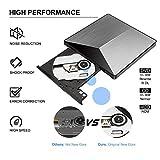 External CD Drive, BOSLISA USB 3.0 CD/DVD+/-RW