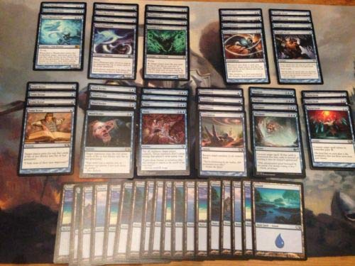 Mono Blue Mill Deck - Modern Legal - Custom Built - Magic The Gathering - MTG - 60 Card