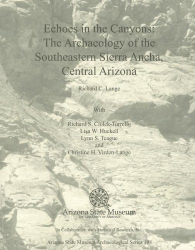 Download Echoes in the Canyons: The Archaeology of the Southeastern Sierra Ancha, Central Arizona pdf epub