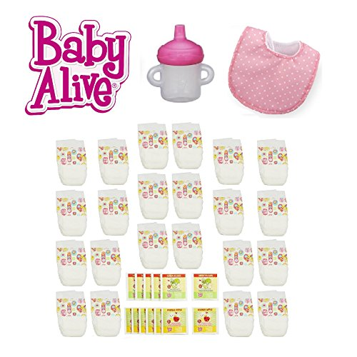 baby alive doll diapers and food - 4