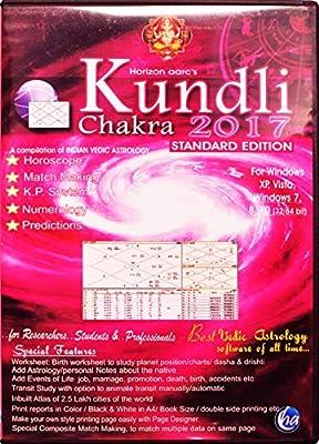 Kundli Chakra 2017 - Standard Edition - HINDI / ENGLISH Lang