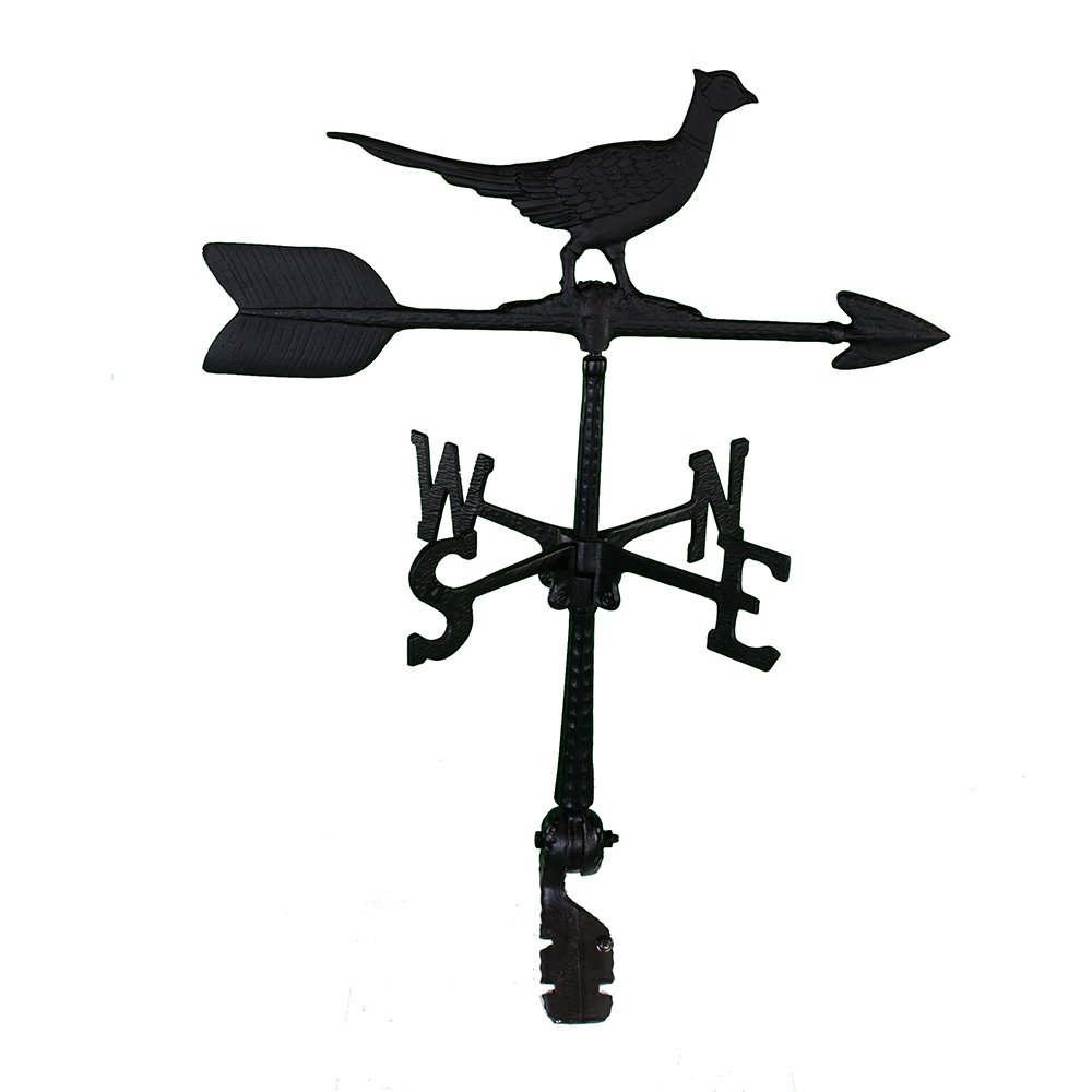 Montague Metal Products 24-Inch Weathervane with Pheasant Ornament WV-177