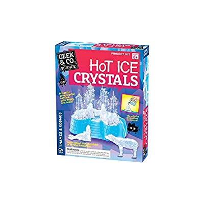 Geek & Co. Science Hot Ice Crystals Science Kit: Toys & Games