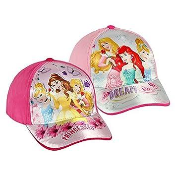 Euroweb Gorra para niña Princesas Disney Color - Rosa Claro: Amazon.es: Electrónica