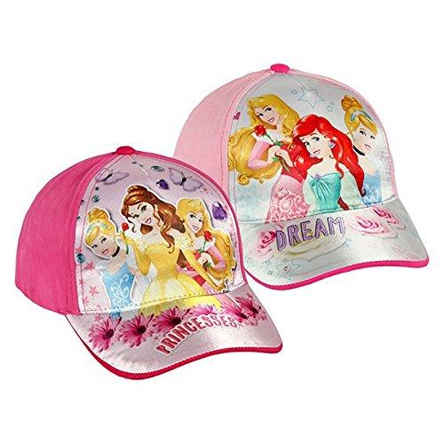 Gorra para niña Princesas Disney color–rosa claro Euroweb
