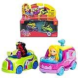 #4: Sunny Day Glam Van & Coloring Car Car Pack Metals Diecast