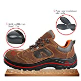 Optimal Product Men's Safety Shoes Work Shoes