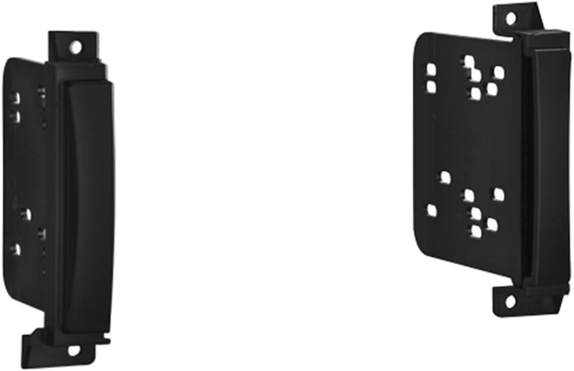 Metra 95-6513B Double DIN Dash Installation Kit for 2011 Jeep Grand Cherokee/Dodge Durango Vehicles (Black)