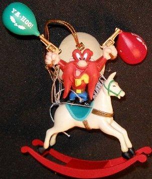Matrix Vintage Looney Tunes YOSEMITE SAM Christmas Orname...