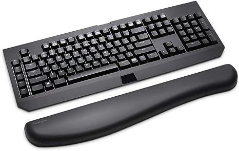 Kensington K52798WW - Reposamuñecas Ergosoft para teclados de Gaming y mecánicos Color Negro