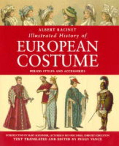 Albert Racinet: Illustrated History of European (Medieval Scribe Costume)