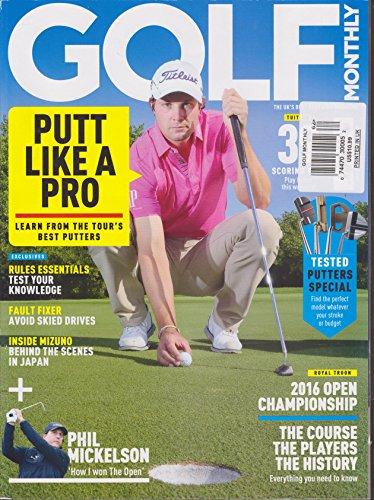 Golf Monthly Magazine - Golf Monthly Magazine Open 2016