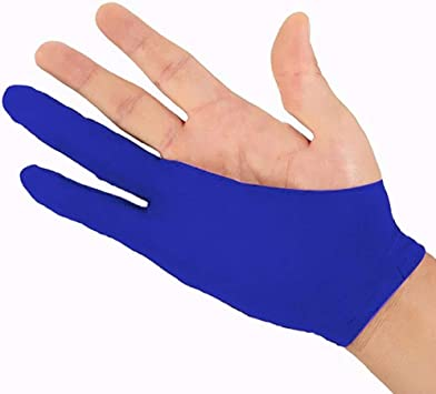 Artist Drawing//Painting//Graphic Unisex Two Fingers Drawing Glove Anti-fouling