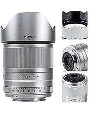 $259 » VILTROX 23mm f/1.4 Auto Focus M-Mount Lens Compatible with Canon,Wide Angle Large Aperture APS-C Prime Lens Compatible for Canon EOS M Cameras M6Ⅱ M50 M5 M3 M100 M10