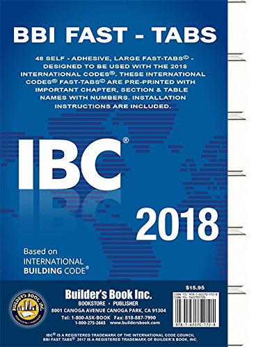 2018 International Building Code  Ibc  Fast Tabs 2018 International Building Code  Ibc  Fast Tabs