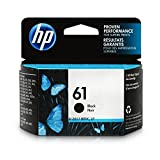 HP 61 Black Original Ink Cartridge For HP ENVY 4500, 4501, 4502, 4504, 4505, 5530, 5531, 5532, 5534, 5535, 5539, HP Officejet 2620, 2621, 4630, 4632, 4635, HP Deskjet 1000, 1010, 1012, 1050, 1051, 1055, 1056, 1510, 1512, 1514, 1051, 2050, 2510, 251…