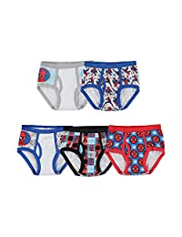 Marvel Little Boys' Spiderman Five-Pack of Briefs