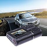 HD Dual Lens 2' Car DVR Dash Cam Vehicle Rearview Camera Video Recorder G-Sensor