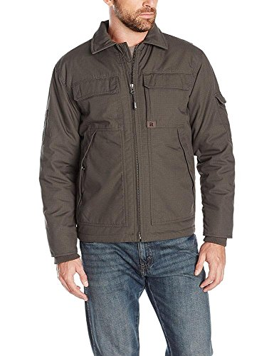 Wrangler Coat (Wrangler Riggs Workwear Men's Ranger Jacket, Loden, XX-Large)