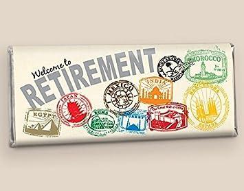 amazon com retirement party favors custom hershey s candy bars
