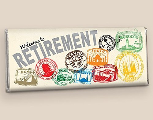 Retirement Party Favors - Custom HERSHEY