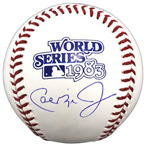 - Cal Ripken Jr Signed Rawlings 1983 World Series (Baltimore Orioles) Baseball