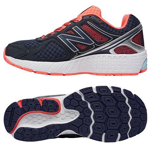 B W670rd1 Foncé Femme Balance Chaussures Gris New Orange de Sport wEq5RZp