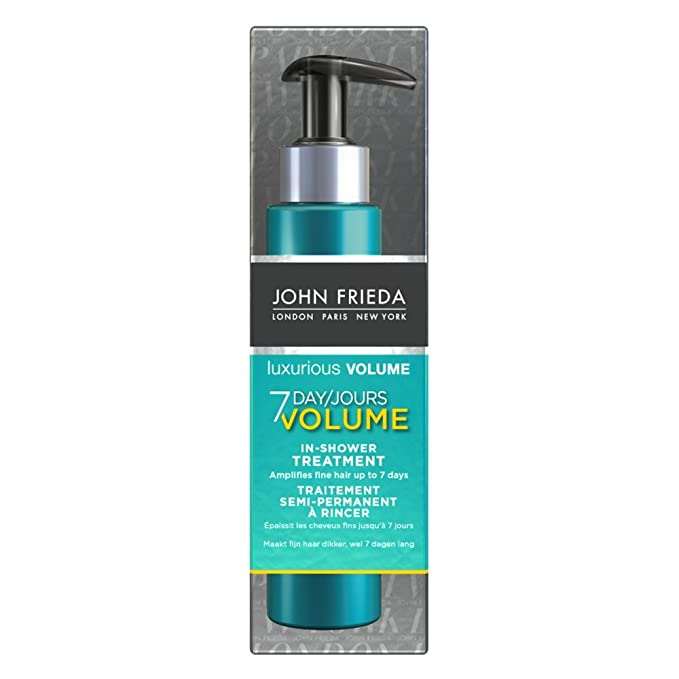 Tratamiento capilar que dura 7 días indicado para dar volumen de John Frieda, producto de lujo, de 100 ml: Amazon.es: Belleza