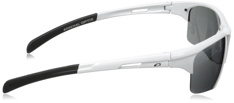 Arsenal Plasma Polarized Rimless Sunglasses