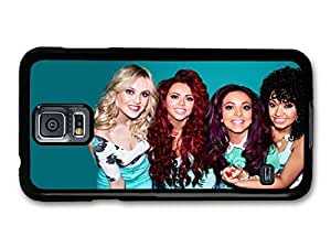 AMAF ? Accessories Little Mix British Girl Group Smiling Close Up case for Samsung Galaxy S5