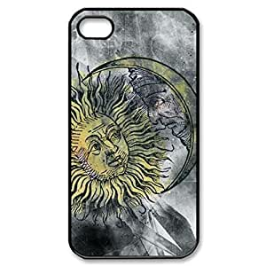 SUUER Rubber Silicone Custom Sun And Moon Celestia Personalized Custom Rubber Tpu CASE for iPhone 5 5s Durable Case Cover