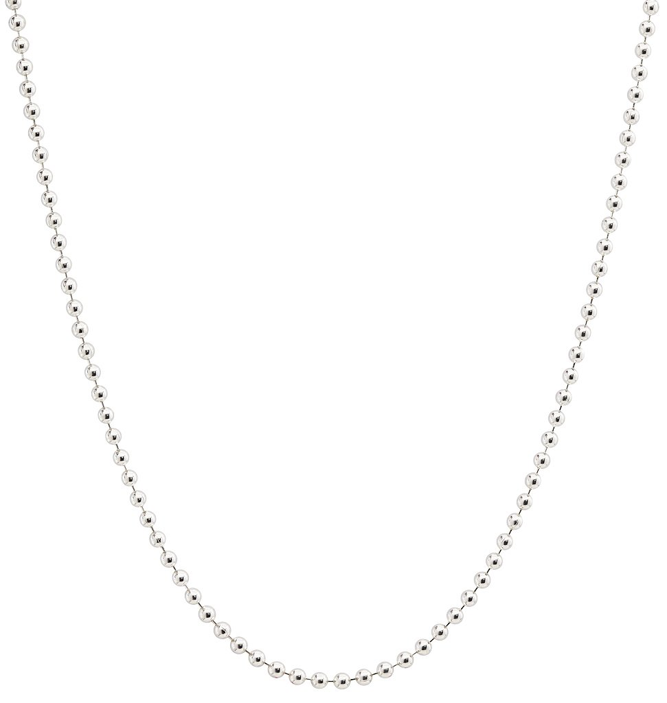 Helen Ficalora Ball Chain Sterling Silver 18 in