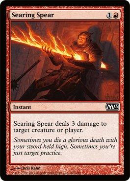 Magic: the Gathering - Searing Spear (147) - Magic 2013